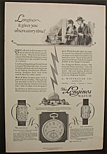 1926 Longines Watches