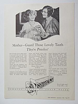 1926 Colgate Ribbon Dental Cream w/ Women Talking  (Image1)