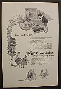 Vintage Ad: 1926  Whitman's  Wonderbox (Image1)
