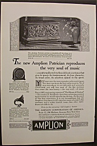 Vintage Ad: 1926 Amplion Corporation