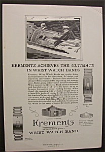 1929 Krementz Wrist Watch Band
