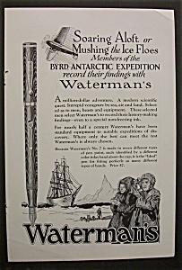 1929  Waterman's  Pens (Image1)
