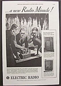 Vintage Ad: 1935 General Electric Radio