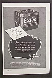 1945  Exide  Battery (Image1)