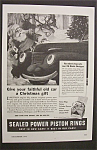 1945  Sealed  Power  Piston  Rings  with  Santa (Image1)