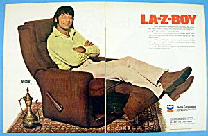 1973 La-Z-Boy with Football's Great Joe Namath (Image1)