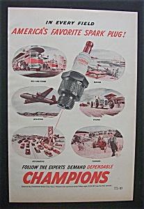 1947  Champion  Spark  Plugs (Image1)