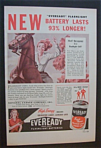 1947 Eveready Batteries