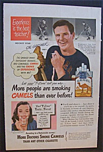 1948 Camel Cigarettes With Cal Gardner