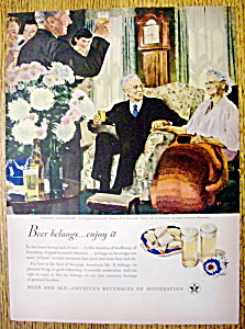 1948 Beer Belongs (Wedding Anniversary) /D. Crockwell (Image1)