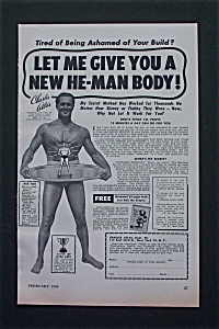 1954 Charles Atlas Body Building with Charles Atlas (Image1)