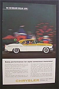 1955 Chrysler with a White & Orange Chrysler (Image1)