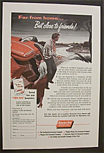 1955 American Fare Insurance w/Man & Woman & Accident (Image1)