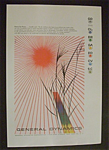 Vintage Ad: 1956  General  Dynamics (Image1)
