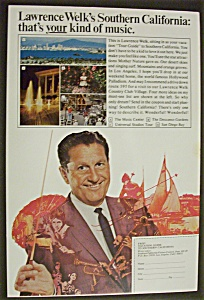 Vintage Ad: 1970 Vacation Guide with Lawrence Welk (Image1)