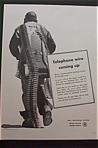 1943 Bell Telephone System with Soldier Walking  (Image1)
