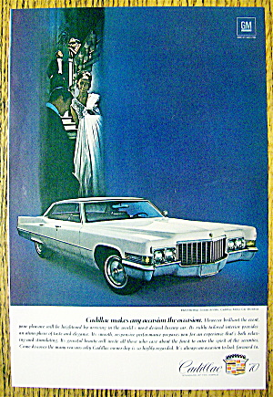 1970 Cadillac with the Sedan DeVille (Hardtop) (Image1)