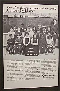 1970 Metropolitan Life Insurance Co w/Children in Class (Image1)
