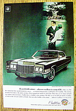 1970/'s Cadillac DeVille Advertisement