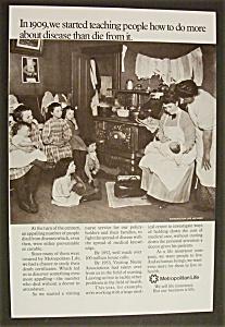 Vintage Ad: 1970 Metropolitan  Insurance  Company (Image1)