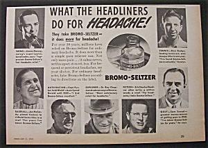 1940 Bromo Seltzer w/Gardner, Snead & Dorsey & Budge (Image1)