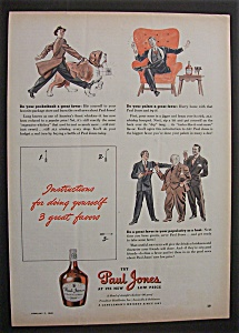 1940 Paul Jones Whiskey