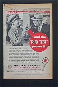 1952 Texaco With The Rub Test Proves It