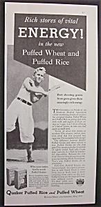 1933  Quaker  Puffed  Rice &  Puffed  Wheat (Image1)
