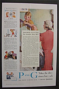 1932 P & G The White Naphtha Soap