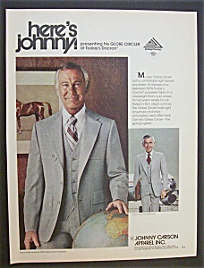 1978 Johnny Carson Apparel with TV's Johnny Carson (Image1)