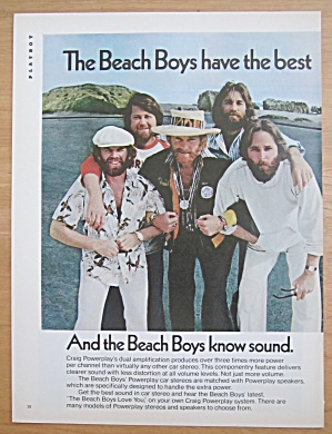 1977 Craig Powerplay System with the Beach Boys (Image1)