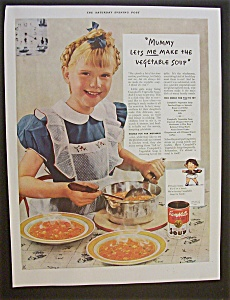 1940 Campbell's Vegetable Soup