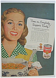 1946 Campbell's Vegetable Soup
