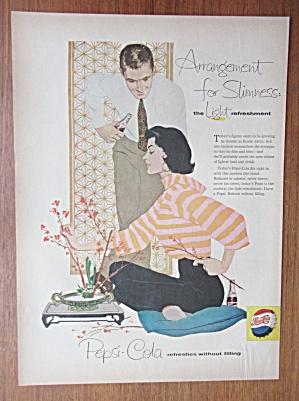 1958 Pepsi Cola (Pepsi) with a Man & Woman Talking  (Image1)