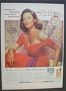 1952  Westmore  Cosmetics  with  Gene  Tierney (Image1)