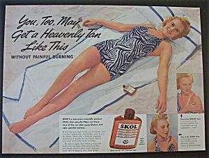 Vintage Ad: 1940 Skol (Image1)
