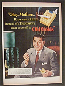 1951 Old Gold Cigarettes with Dennis James (Image1)