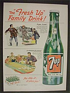 Vintage Ad: 1950  7 Up (Image1)