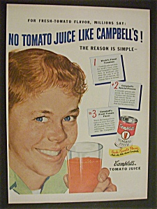 1950  Campbell's  Tomato  Juice (Image1)