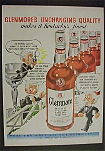 Vintage Ad: 1950 Glenmore Whiskey (Image1)
