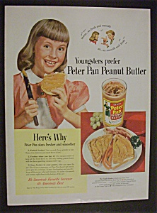 1950 Peter Pan Peanut Butter