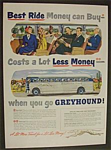 Vintage Ad: 1950  Greyhound (Image1)
