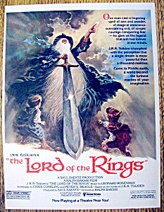 Vintage Ad: 1979 The Lord Of The Rings (Image1)