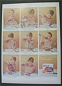 Vintage Ad: 1955 Jell-O Instant Pudding (Image1)
