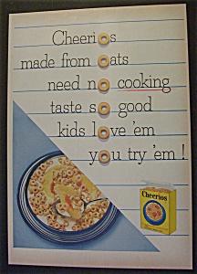 Vintage Ad: 1955 Cheerios (Image1)