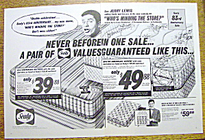 1964 Sealy Mattress with Jerry Lewis (Image1)