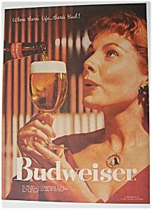 1957  Budweiser  Beer (Image1)