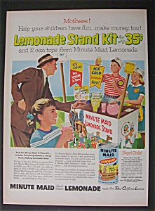 1956 Minute Maid Lemonade