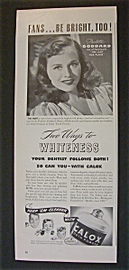 1942 Calox Tooth Powder with Paulette Goddard (Image1)