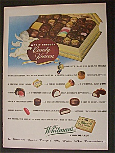 1950 Whitman's Chocolates
